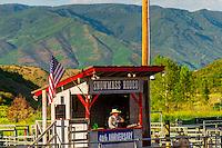 Snowmass Rodeo, Snowmass Village (Aspen), Colorado USA.