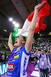 11-05-2017 ITA: Finale Liu Jo Modena - Igor Gorgonzola Novara, Modena<br /> Novara heeft de titel in de Italiaanse Serie A1 Femminile gepakt. Novara was oppermachtig in de vierde finalewedstrijd. Door een 3-0 zege is het Italiaanse kampioenschap binnen. / Francesca Piccinini #12<br /> <br /> ***NETHERLANDS ONLY***