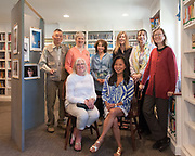 From left, seated: Nancy Haeberle, Oak Atkinson ; from left, standing: Leo Hwang, Patricia Humphreys, <br /> Janice Robbins, Stacey Cleveland, Jackie Ross, Lori Adams (instructor). Not pictured: Lois Barker, Moira Duggan, Rina Slavin.