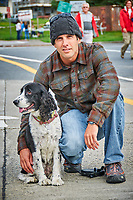 Coast Guard Moving to Alaska with Dog. Image taken with a Nikon D300 camera and 70-300 mm VR lens.