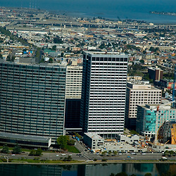 Aerial view of San Diego Waterfront District