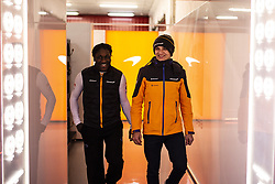 February 28, 2019 - Barcelona, Catalonia, Spain - Lando Norris from Great Britain with 04 Mclaren F1 Team - Renault MCL34 portrait during the Formula 1 2019 Pre-Season Tests at Circuit de Barcelona - Catalunya in Montmelo, Spain on February 28. (Credit Image: © Xavier Bonilla/NurPhoto via ZUMA Press)