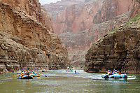 Multiple trips rafting the Grand Canyon. Grand Canyon National Park, AZ.