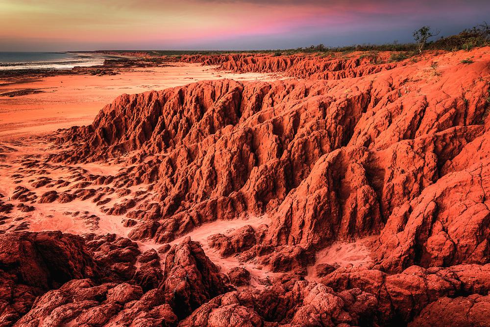 James Price Point at Dampier Peninsula. Kimberley, Western Australia
