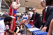 DESCRIZIONE : Trento Lega A 2015-16 Dolomiti Energia Trentino - Consultinvest Pesaro<br /> GIOCATORE : Riccardo Paolini<br /> CATEGORIA : Time Out<br /> SQUADRA : Dolomiti Energia Trentino - Consultinvest Pesaro<br /> EVENTO : Campionato Lega A 2015-2016 <br /> GARA : Dolomiti Energia Trentino - Consultinvest Pesaro<br /> DATA : 08/11/2015 <br /> SPORT : Pallacanestro <br /> AUTORE : Agenzia Ciamillo-Castoria/Giulio Ciamillo<br /> Galleria : Lega Basket A 2015-2016 <br /> Fotonotizia : Trento Lega A 2015-16 Dolomiti Energia Trentino - Consultinvest Pesaro