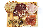 Charcutiere: an assortment of fine cured meat.