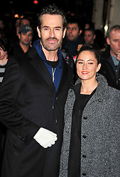 © under license to London News Pictures. 11/03/2011. Rupert Everett and K T Tunstall Attends the press night of The Hurly Burly Show at the Garrick Theatre London . Photo credit should read Alan Roxborough/LNP