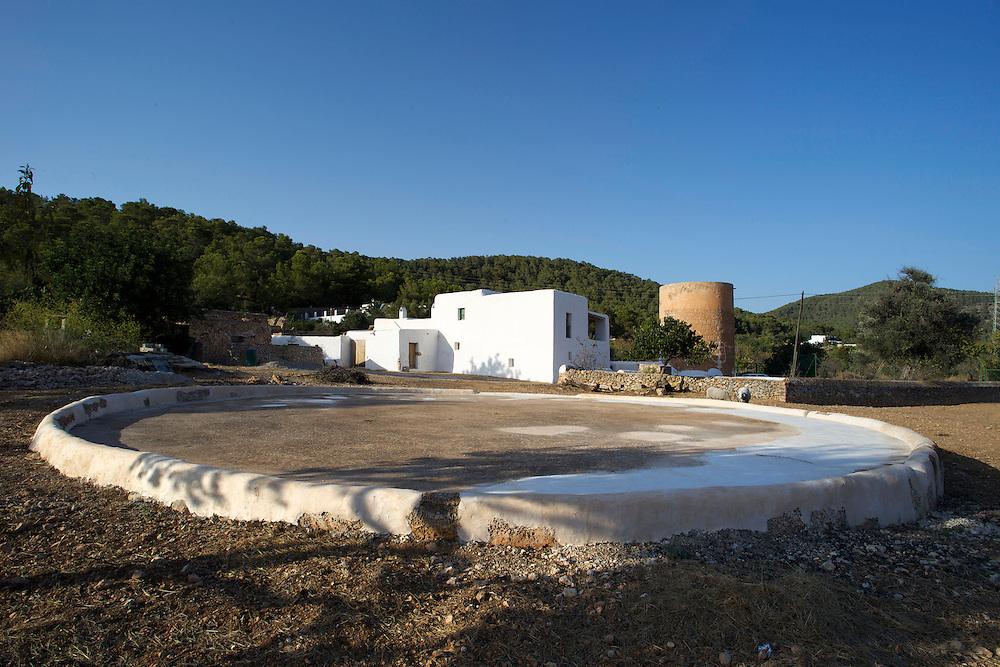 13/Agosto/2009 Ibiza.Casa payesa de Cas Orvais en Sant Jordi..©JOAN COSTA