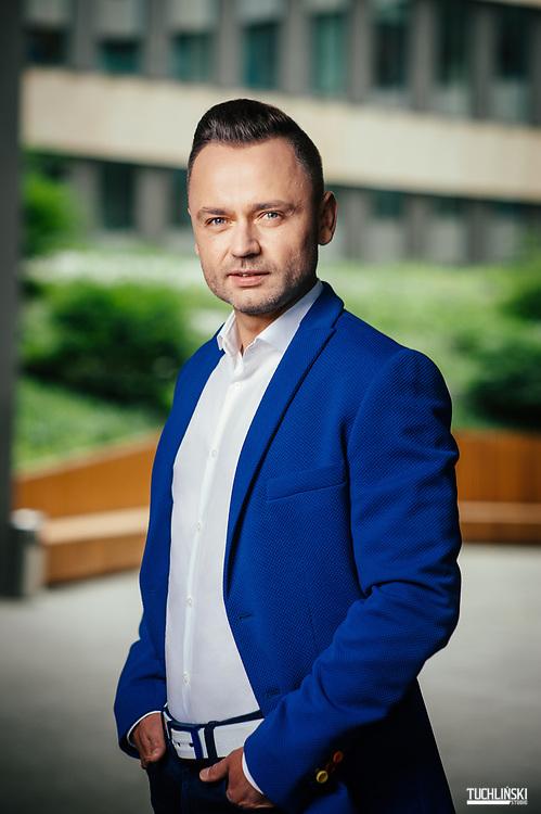 Warszawa, Polska. 12.05.2017r. Igor Klaja - prezes zarządu Firmy OTFC własciciela marki 4F.<br /> Adam Tuchlinski dla Forbes