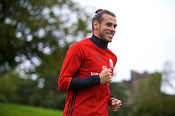 CARDIFF, WALES - Tuesday, August 29, 2017: Wales' Gareth Bale during a training session at the Vale Resort ahead of the 2018 FIFA World Cup Qualifying Group D match against Austria. (Pic by David Rawcliffe/Propaganda)