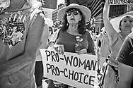 Pro Choice rally in New Orleans on May 22, 2019.