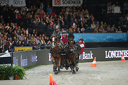 Brauchle, Michael (GER), <br /> Stuttgart - German Masters 2015<br /> Fahren Weltcup<br /> www.sportfotos-lafrentz.de