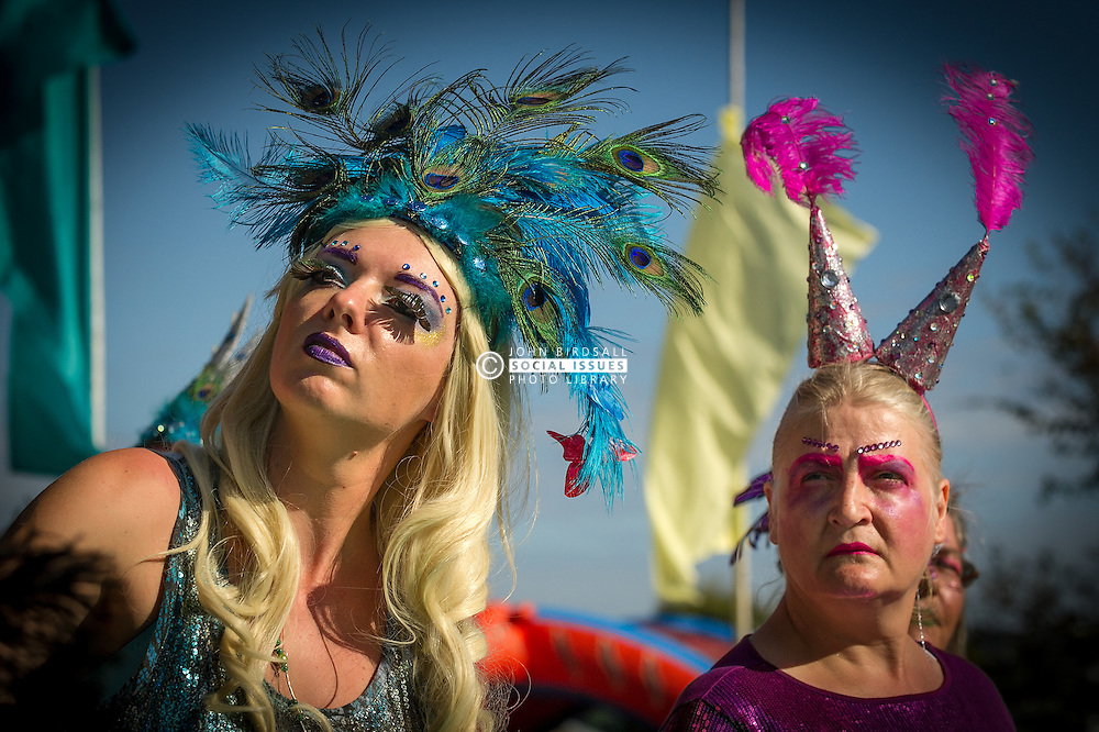 A colourful character plays a role in The Ordinalia, a mystery play in the Penryn Festival in Cornwall.