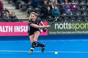 Surbiton v Buckingham - Investec Women's Hockey League Finals, Lee Valley Hockey & Tennis Centre, London, UK on 28 April 2018. Photo: Simon Parker