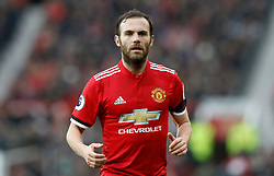 "Manchester United's Juan Mata during the Premier League match at Old Trafford, Manchester. PRESS ASSOCIATION Photo. Picture date: Saturday February 3, 2018. See PA story SOCCER Man Utd. Photo credit should read: Martin Rickett/PA Wire. RESTRICTIONS: EDITORIAL USE ONLY No use with unauthorised audio, video, data, fixture lists, club/league logos or ""live"" services. Online in-match use limited to 75 images, no video emulation. No use in betting, games or single club/league/player publications."