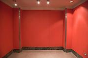 empty red room