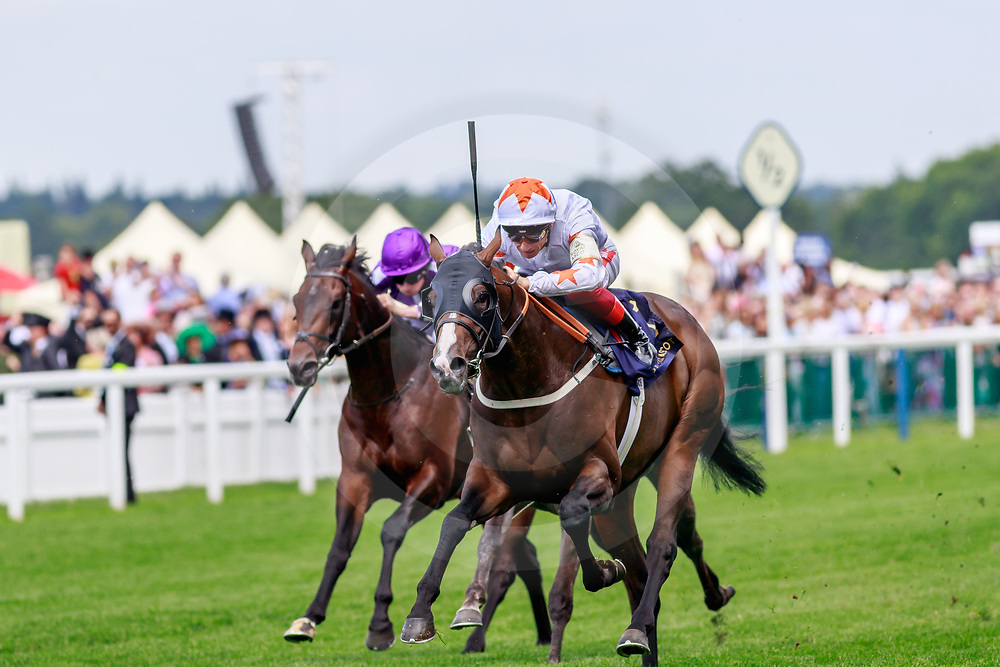 Advertise (L. Dettori) wins The Commonwealth Cup Gr.1 at Royal Ascot, 21/06/2019, photo: Zuzanna Lupa
