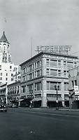 1944 Looking west on Hollywood Blvd. & McCadden Pl.