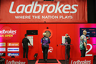 Lisa Ashton during the Ladbrokes UK Open at Stadium:MK, Milton Keynes, England. UK on 5 March 2021.