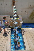 Madatech, Israeli National Museum of Science Technology and Space, Haifa, Israel Screw water pump