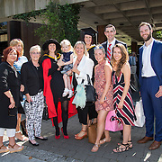 """25.08.2016          <br />  Faculty of Business, Kemmy Business School graduations at the University of Limerick today. <br /> <br /> Attending the conferring were sisters, Phd graduate, Dr. Leonie McMeel Lynch and her sister, Sharon McMeel, BA in Management Practice, Ballysheedy, Limerick who are pictured with their family and friends. Picture: Alan Place.<br /> <br /> <br /> As the University of Limerick commences four days of conferring ceremonies which will see 2568 students graduate, including 50 PhD graduates, UL President, Professor Don Barry highlighted the continued demand for UL graduates by employers; """"Traditionally UL's Graduate Employment figures trend well above the national average. Despite the challenging environment, UL's graduate employment rate for 2015 primary degree-holders is now 14% higher than the HEA's most recently-available national average figure which is 58% for 2014"""". The survey of UL's 2015 graduates showed that 92% are either employed or pursuing further study."""" Picture: Alan Place"""
