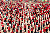 26,000 Students Kung Fu Performance