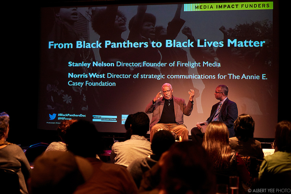 """Director Stanley Nelson's powerful film The Black Panthers: Vanguard of the Revolution documents the Black Panther Party and the emergence of revolutionary culture in the 1960s through accounts from the Black Panthers' rank and file, as well as lawyers, journalists, police officers, and FBI agents. The film will have its national television premiere on the acclaimed PBS documentary series Independent Lens on Tuesday, February 16, 2016 at 9pm.<br /> <br /> A multiple Emmy-winning filmmaker and MacArthur """"genius"""" fellow, Nelson has examined the history and legacy of the civil rights movement over a series of hard-hitting films, including Freedom Summer, Freedom Riders and The Murder of Emmett Till. He is currently in production on Tell Them We Are Rising: The Story of Historically Black Colleges and Universities, which will also air on PBS. West is a former journalist who spent the majority of his 23-year career at the Baltimore Sun. The two of them will discuss the past and present of racial justice movements in the U.S., and the role that media can play in illuminating them.<br /> <br /> In partnership with Philanthropy Network Greater Philadelphia, this special gathering will take place at the Prince Theater in Philadelphia as the opening reception for TMC2016. Hosted each year by The Media Consortium, TMC2016 — a gathering of the country's leading, progressive, independent media outlets — brings together publishers and producers, editors and journalists. It's the ideal place for funders interested in learning and sharing information and strategies about the evolving field of media that matters."""