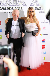 The annual Australian Record Industry Awards celebrate the best in music, held at The Star, Pyrmont, Sydney, Australia. 28 Nov 2018 Pictured: Andrew Monk, father, Sophie Monk. Photo credit: Richard Milnes / MEGA TheMegaAgency.com +1 888 505 6342