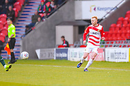 Ali Crawford of Doncaster Rovers (11) in action during the EFL Sky Bet League 1 match between Doncaster Rovers and Plymouth Argyle at the Keepmoat Stadium, Doncaster, England on 13 April 2019.
