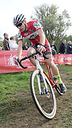 Belgium, November 1 2017: Jelle De Bock (Bel) Arrow Cycling Team finished in 26th place in the 2017 edition of the Koppenbergcross.  Copyright 2017 Peter Horrell.