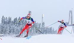21.02.2016, Salpausselkae Stadion, Lahti, FIN, FIS Weltcup Langlauf, Lahti, Herren Skiathlon, im Bild Hans Christer Holund (NOR) // Hans Christer Holund of Norway competes during Mens Skiathlon FIS Cross Country World Cup, Lahti Ski Games at the Salpausselkae Stadium in Lahti, Finland on 2016/02/21. EXPA Pictures © 2016, PhotoCredit: EXPA/ JFK