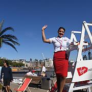 Virgin Holidays hosts 'Say Balls to Boring' Ball Pool, Southbank, London, UK