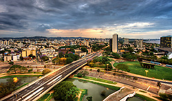 Vista aérea do Centro de Porto Alegre. FOTO: Jefferson Bernardes/Preview.com