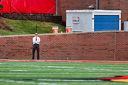 NORMAL, IL - October 06: Peyton Deterding during a college football game between the ISU (Illinois State University) Redbirds and the Western Illinois Leathernecks on October 06 2018 at Hancock Stadium in Normal, IL. (Photo by Alan Look)