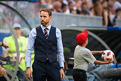 July 7, 2018 - Samara, Russia - 180707 head coach Gareth Southgate of England during the FIFA World Cup quarter final match between Sweden and England on July 7, 2018 in Samara..Photo: Petter Arvidson / BILDBYRÃ…N / kod PA / 92083 (Credit Image: © Petter Arvidson/Bildbyran via ZUMA Press)