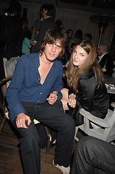 JACKSON SCOTT and BEN GRIMES at a party to celebrate the launch of the Suka restaurant at the Sanderson Hotel, berners Street, London on 15th March 2007.<br /><br />NON EXCLUSIVE - WORLD RIGHTS