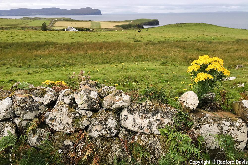Isle of Skye sea view, Scotland.