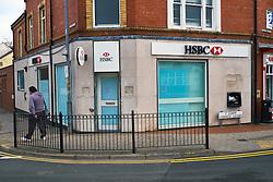 HSBC bank Uxbridge Square, Menai Bridge, closes for good April 2016, Wales
