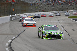 November 3, 2018 - Ft. Worth, Texas, United States of America - Brandon Jones (19) battles for position during the O'Reilly Auto Parts Challenge at Texas Motor Speedway in Ft. Worth, Texas. (Credit Image: © Justin R. Noe Asp Inc/ASP via ZUMA Wire)