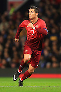 Cristiano Ronaldo of Portugal in action - Argentina vs. Portugal - International Friendly - Old Trafford - Manchester - 18/11/2014 Pic Philip Oldham/Sportimage