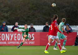 Sophie Baggaley of Bristol City - Mandatory by-line: Paul Knight/JMP - 28/10/2018 - FOOTBALL - Stoke Gifford Stadium - Bristol, England - Bristol City Women v Arsenal Women - FA Women's Super League
