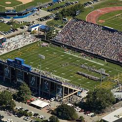 Aerial views of the Bob Carpenter Center