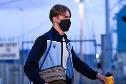 Luke McCormick of Bristol Rovers arrives at Memorial Stadium prior to kick off - Mandatory by-line: Ryan Hiscott/JMP - 03/11/2020 - FOOTBALL - Memorial Stadium - Bristol, England - Bristol Rovers v Peterborough United - Sky Bet League One