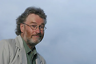 IAIN BANKS, Scottish author, science fiction author. Edinburgh International Book Festival 2005, Edinburgh, Scotland.