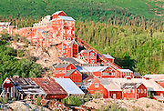 Alaska. Wrangell St Elias NP. Kennicott Mine, est 1910, processed copper ore until 1938.