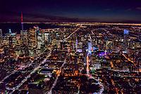 Downtown Toronto, Facing Westward