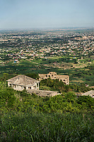 Sprawl of Greater Accra Region from Aburi