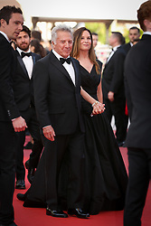 Actor Dustin Hoffman (L) and wife Lisa Hoffman attend the 'The Meyerowitz Stories' screening during the 70th annual Cannes Film Festival at Palais des Festivals on May 21, 2017 in Cannes, France. Photo by Shootpix/ABACAPRESS.COM