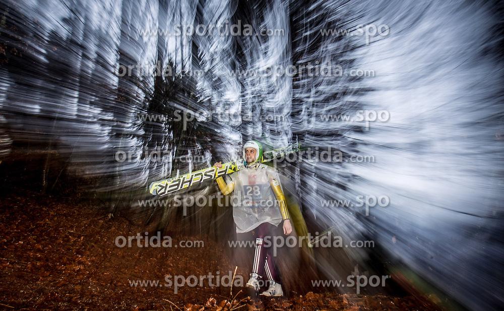 05.01.2014, Paul Ausserleitner Schanze, Bischofshofen, AUT, FIS Ski Sprung Weltcup, 62. Vierschanzentournee, Qualifikation, im Bild Tomaz Naglic (SLO) // Tomaz Naglic (SLO) during qualification Jump of 62nd Four Hills Tournament of FIS Ski Jumping World Cup at the Paul Ausserleitner Schanze, Bischofshofen, Austria on 2014/01/05. EXPA Pictures © 2014, PhotoCredit: EXPA/ JFK