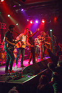 Will Varley opened for Skinny Lister in San Francisco, California at The Independent.